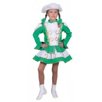 Festivalshop - Dance marieke child green white - OL663