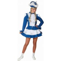 Festivalshop - Dancing girl cheerleader blue white - OL964