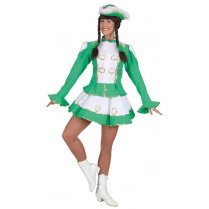 Festivalshop - Dancing girl cheerleader green white - OL9068