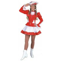 Festivalshop - Dancing girl cheerleader red white - OL965