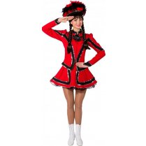 Festivalshop - Dancing girl cheerleader red black - OL9853