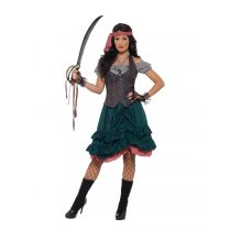 Festivalshop - Deluxe piraat dame pirate wench - SM47360