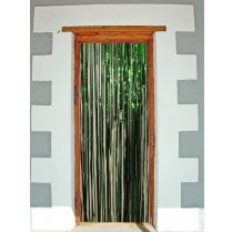 Festivalshop - Foil Door Curtain Green 2x1m - FO09212