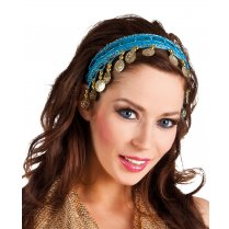 Festivalshop - Diadem Belly Dancer Gypsy Fuchsia - BO00457F