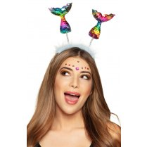 Festivalshop - Diadem mermaid tail rainbow - BO51021