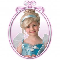 Festivalshop - Disney Pruik Kind Prinses Assepoester - RE9904