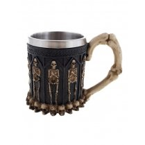 Festivalshop - Luxury drinking cup with skeletons - 94/94112