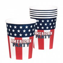 Festivalshop - Drinking cups American Party USA - BO44956