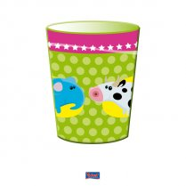 Festivalshop - Drinking cups animal party 8pcs - FO26001