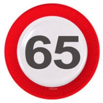 Festivalshop - Signs Traffic Sign 65 Years - 28165