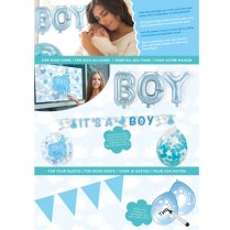 Festivalshop - Party package blue birth son - FO00194