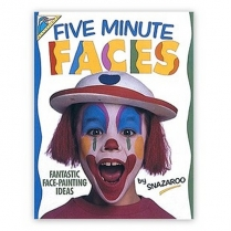 Festivalshop - Five Minute Faces Boek Snazaroo - 1196030