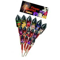 Festivalshop - Flower Cocktail assortment- 15 rockets - FA49651