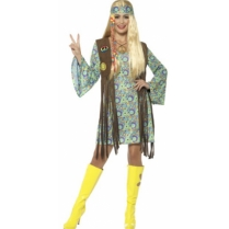Festivalshop - Flower Power 60′s Hippie Chick - SM43127