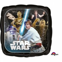 Festivalshop - Foil balloon Star Wars square - AM3552101