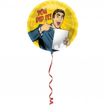 Festivalshop - Folieballon You did it - FO63112