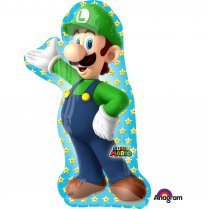 Festivalshop - Folieballon supershape Luigi Super Mario - AM3483701