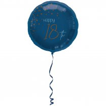 Festivalshop - Folieballon transparant true blue 18 j - FO66718