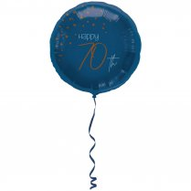 Festivalshop - Folieballon transparant true blue 70 j - FO66770