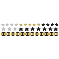 Festivalshop - Funky Star Metallic Tattoo - TAT0137