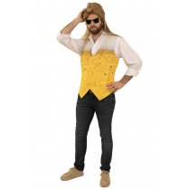 Festivalshop - Gilet beer pattern men - PX07482