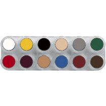 Festivalshop - Grimas Creme Make-up B-Palette 12kl - 8717277003284