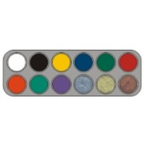 Festivalshop - Grimas Creme Make-up F-Palette 12kl - 8717277003291