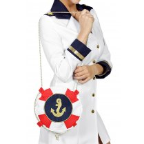 Festivalshop - Handbag navy sailor sea captain - WI48942