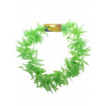 Festivalshop - Hawai Necklace Green Wheat Leaves - 60/60347