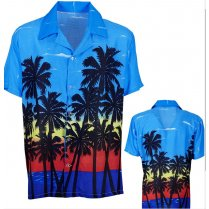 Festivalshop - Hawaii Shirt Palm Beach - WD05751