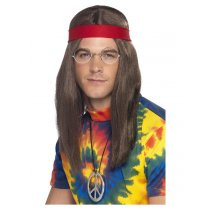 Festivalshop - Hippie man kit - SM21337