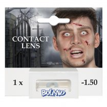 Festivalshop - Annual lenses on strength white zombie - BO40050