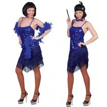 Festivalshop - Glitter blue dress charleston - 30/508452