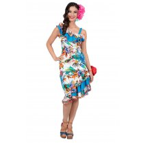 Festivalshop - Jurk hawaii retro - WI4956