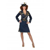 Festivalshop - Dress navy blue captain Carla - 30/511109