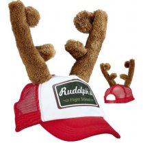 Festivalshop - Kerst pet Rudolf rendier Flight School - WD08169