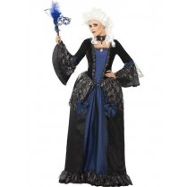 Festivalshop - Kleed Baroque Beauty Blauw - SM25438
