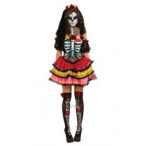 Festivalshop - Kleedje Day of the Dead Seniora - RE810622