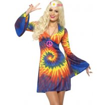 Festivalshop - Dress Hippie Tie Dye - SM20741