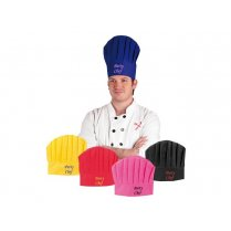 Festivalshop - Chef′s hat party Chef per color per piec - BO90648