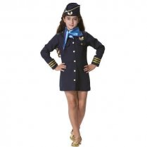 Festivalshop - Costume Air Hostess Blue - FA44208