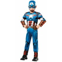 Festivalshop - Kostuum Captain America Kind Deluxe - RE640833