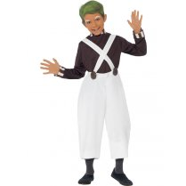 Festivalshop - Costume Oompa Loompa Child - SM44069
