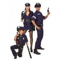 Festivalshop - Costume Police boy dark blue - 30/403041