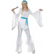 Festivalshop - Costume super trooper Abba disco Agnetha - SM33483