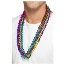 Festivalshop - Kralen kettingen party beads 6 regenboog - SM43518
