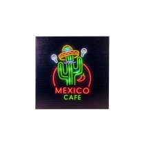 Festivalshop - LED canvas Mexico Cafe - CH10249