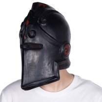 Festivalshop - Latexmaske Black Knight Fortnite - MIACH180403