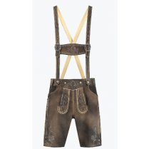 Festivalshop - lederhosen shorts sand-brown antique - HH5031XX