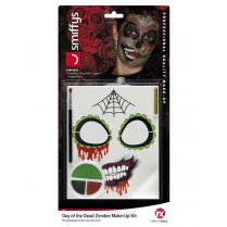Festivalshop - Make-up Kit Day of the Dead zombie - SM44915